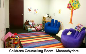 Children's counselling room - Laurel House