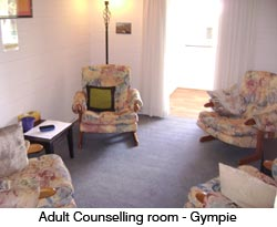 Adult Counselling room - Gympie